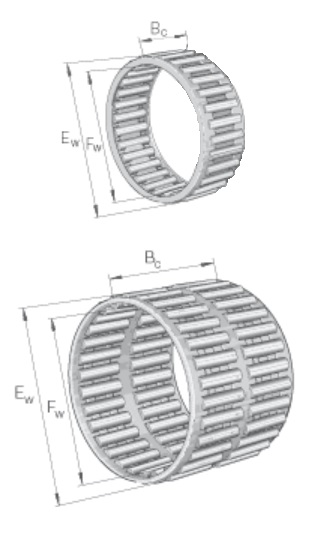 Needle roller cage assemblies
